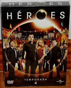 Detalles de HEROES 4ª TEMPORADA COMPLETA 6 DISCOS DVD NUEVO PRECINTADO  SERIE (SIN ABRIR) R2