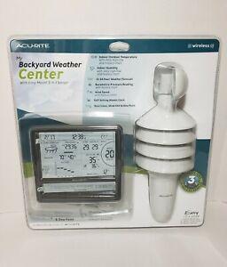 Acurite My Backyard Weather Center Three-In-One Wireless ...
