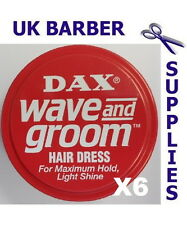 Dax Wax Red Wave and Groom 6 Tins 99g