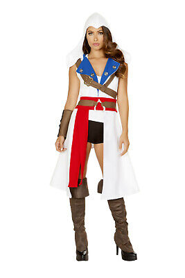 4843 The Assassins Protector Roma Costume Assassin S Creed Outfit