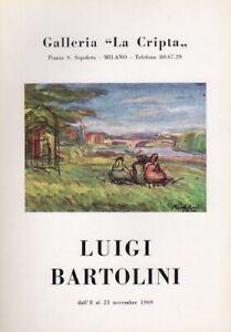 Luigi Bartolini. Dall'8 al 23 novembre 1969.