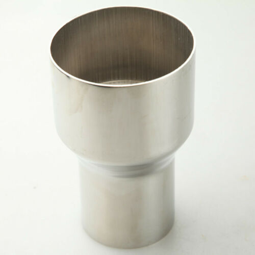 """2.25/"""" OD To 3/"""" OD Exhaust Reducer Adapter Pipe Stainless Steel U.K."""