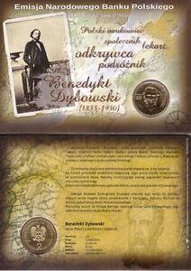 ■■■ Poland 2010 2 Zl  Polish Developers BENEDYKT DYBOWSKI in Blister UNC ■■■
