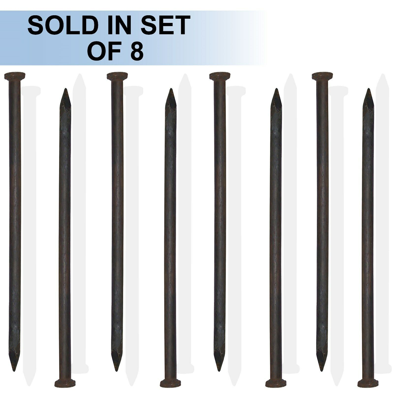 42  x 1  Single Head Tent Stake (Set of 8)  free shipping & exchanges.