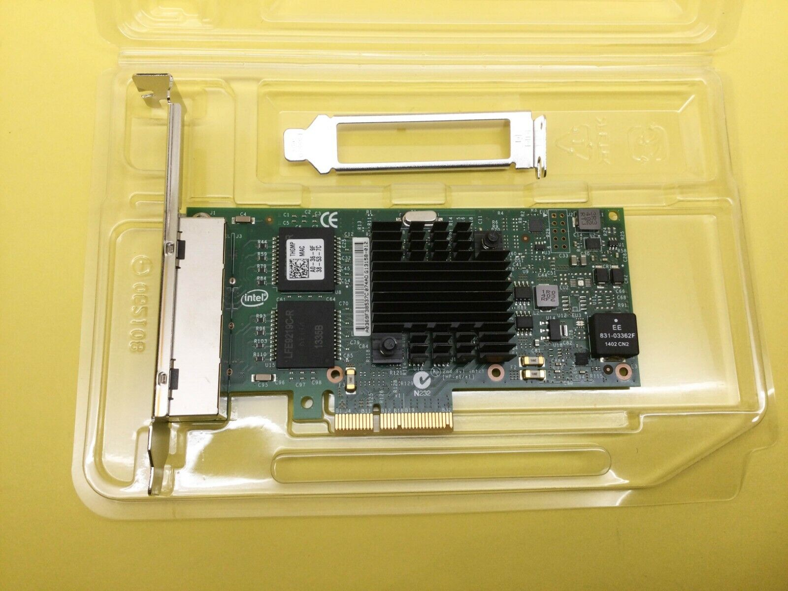 Intel I350T4 Ethernet Adattatore Server Intel I350-T4 DELL X8DHT & THGMP & 9RJN6