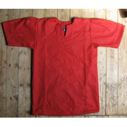 Y51XL - Red tunic for Roman armour (lorica) - size XL