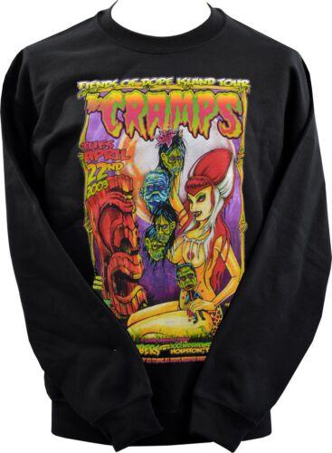 Unisexe Sweat-shirt JOHNNY ACE Studios crampes Garage Tiki Shrunken Heads XS-7XL