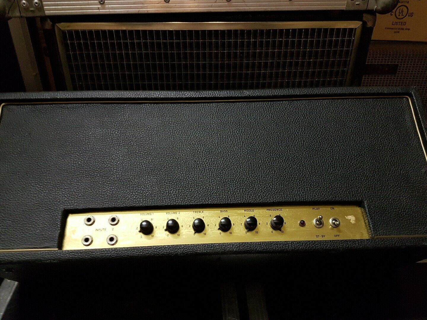 70's MAQUIS 100 W TUBE AMP - made in GERMANY
