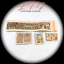 ANCIENT-EGYPTIAN-ARTIFACTS-Miniature-Dollhouse-1-12-Scale-Papyrus-Scroll thumbnail 3