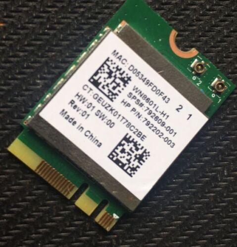 HP 17-G Wireless WIFI WLAN NGFF Card RTL8188EE 792202-003 792609-001 WN8601L-H1