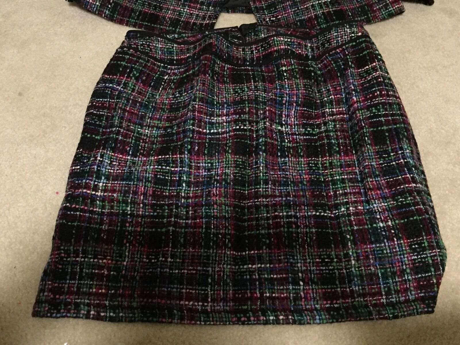 Talbots Petite Pencil Skirt Size 22WP Lined Below Knee Wool Lycra
