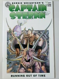 CAPTAIN-STERNN-RUNNING-OUT-OF-TIME-4-1994-KITCHEN-SINK-BERNI-WRIGHTSON-ART-NM