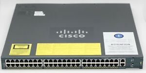 New-Cisco-Catalyst-4948-10-Gigabit-Ethernet-Switch-switch-managed-48-ports