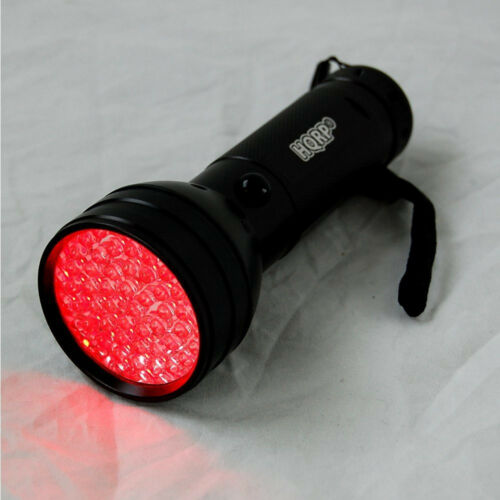 HQRP Red Light 51-LED Flashlight Torch for Astronomy /& Aviation /& Night Vision