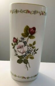 Vintage-Japan-Otagiri-034-Rose-Bouquet-034-Porcelain-Vase-8-034-T