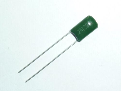 20PCS 100V 0.012uF 12nF 12000pF 2A123J ±5/% Mylar Film Capacitors Radial