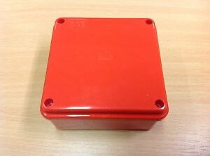 Image Is Loading Red Waterproof Junction Box 100 X
