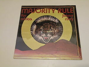 JIMMIY-RILEY-MAJORITY-RULE-FOR-AFRICA-RED-VINYL-1978-Makossa-MADE-IN-U-S-A