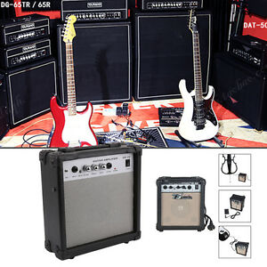 New Electric Guitar Practice Amplifier Powerful Sound Amp G-10W BP
