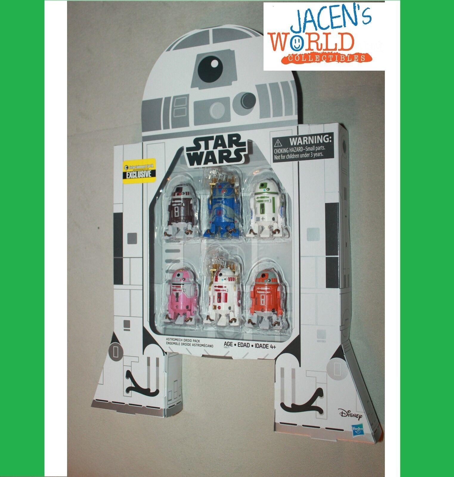Astromech - set star wars r7-f5 qt-kt r7-d4 r2-c2 r2-a5 jabba barkeeper