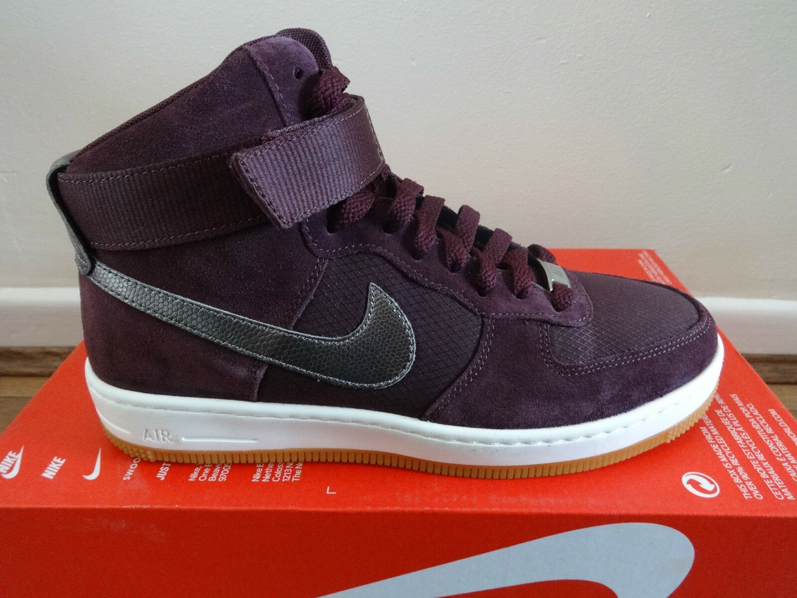 Nike de mujer AF1 Ultra Force 654851 Mid Tenis Entrenadores Zapatos 654851 Force 600 373149