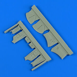 QUICKBOOST QB48834 Undercarriage Covers for Airfix® Kit Sea Fury FB.11 in 1:48