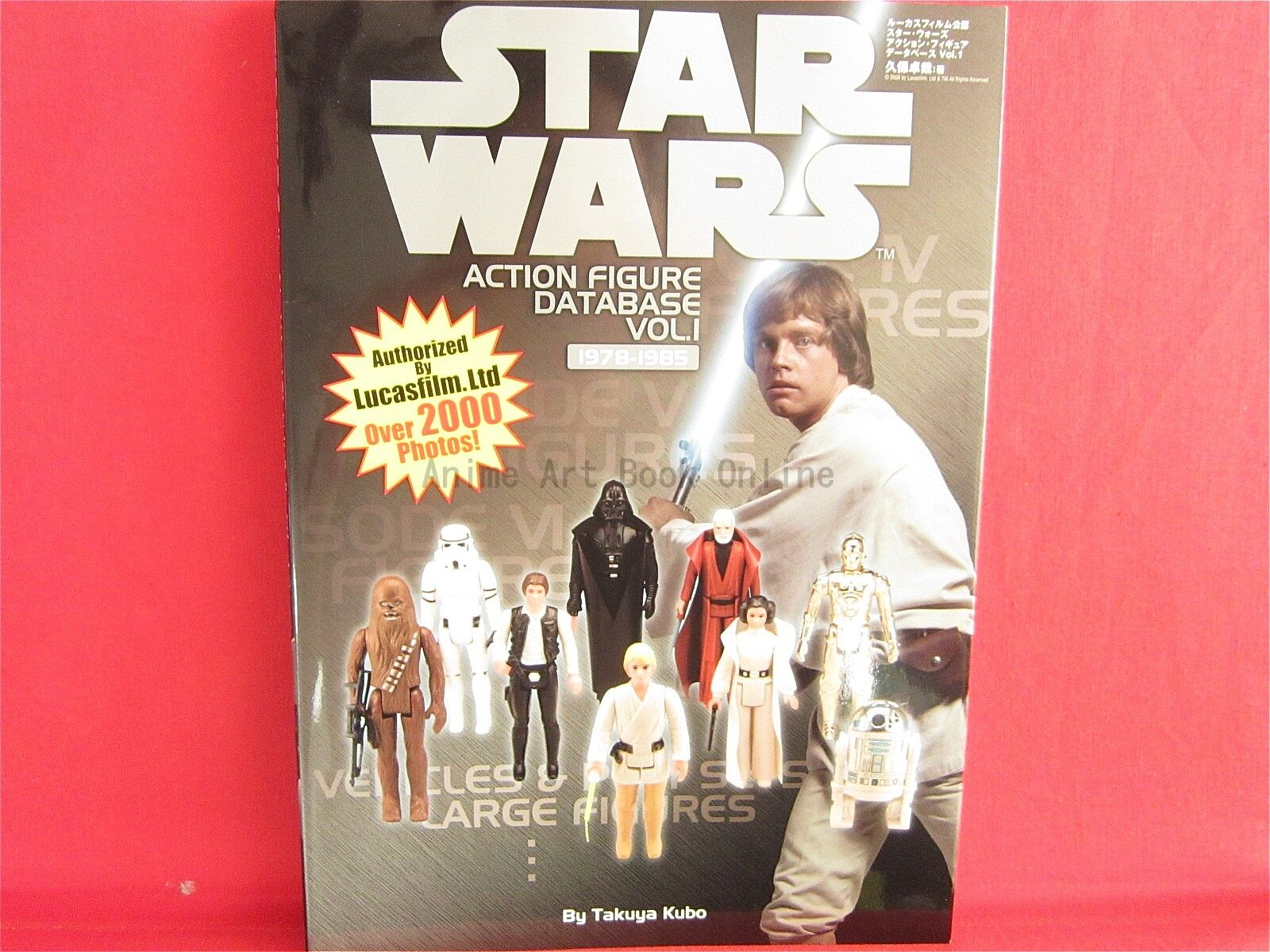 STAR WARS ACTION FIGURE DATA BASE  1 Collection Book