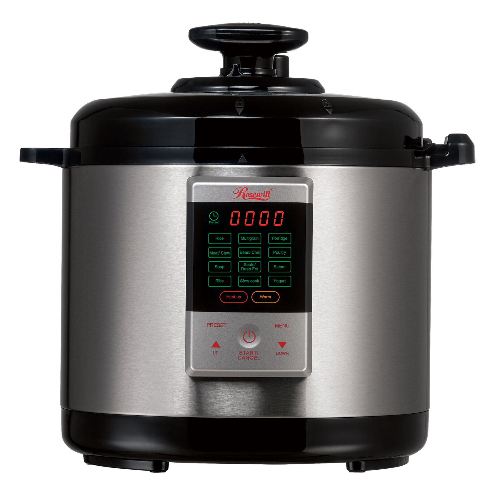 Digital Electric Pressure Cooker Stainless Steel Instapot Multi-Functional 6 Qt