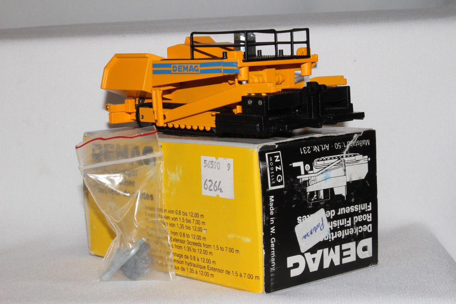 NZG Demag Road Paver,   231, 1 50th Scale