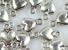 Lot 10//40//200pcs Antique Silver Exquisite square Charms Connectors DIY 31x25mm