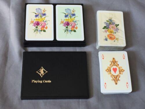 Altenburger Coeur Spielkarten Kartenspiel Karten-Deck 2x 55 Blatt Rokoko-Motive