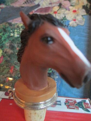 HORSE/'S HEAD   WINE STOPPER