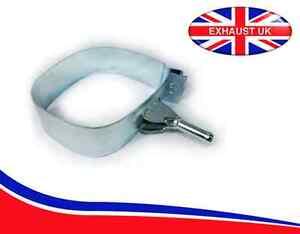 peugeot 207 exhaust silencer rear back box backbox band bracket hanger