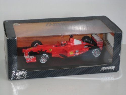 Ferrari F1-2000 GP  2000 World Champion  M.Schumacher 26737 1/18 Hot Wheels