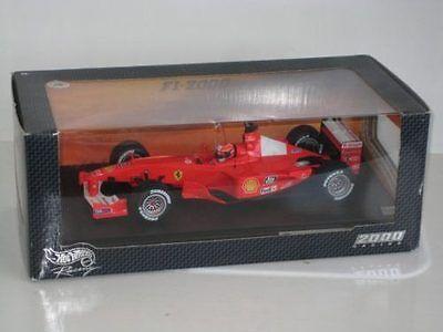Ferrari F1-2000 GP  2000 World Champion  M.Schumacher 26737 1/18 Hot Wheels