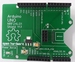 Arduino UNO NRF24L01+ Shield V1.3