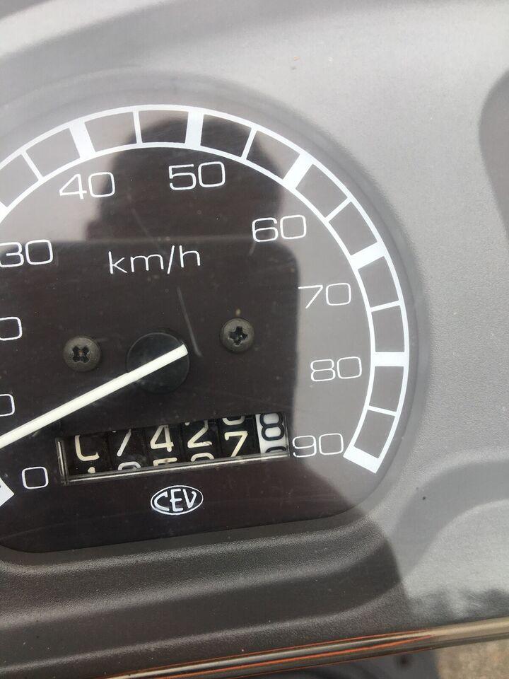 Piaggio zip, 1998, 7427 km