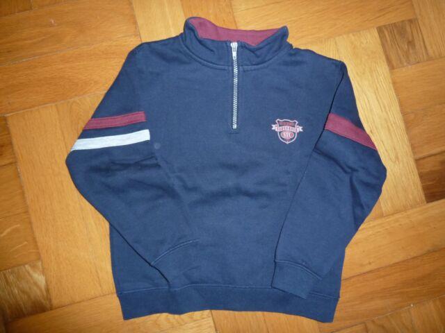 Pullover Sweatshirt 104 / 110 STACCATOReißverschlußLangarmLangarmshirt blau