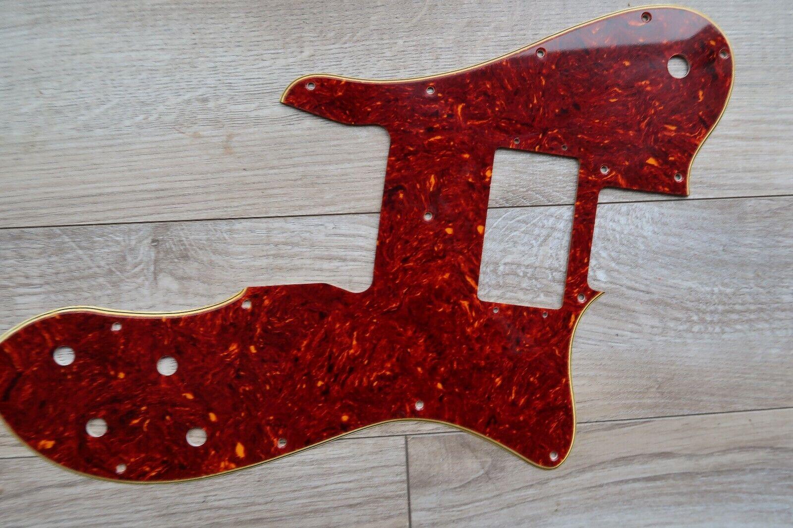 '71 79 Fender Telecaster Thinline  Nitrate Tortoise Celluloid Pickguard Tele 60s
