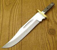 Clip Point Knife Blade Blank 5 3/4 W/ Finger Guard
