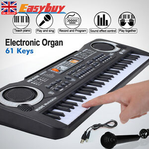 Electronic Keyboard 61 Keys Digital Music  Key Board Electric Piano Toy Gift