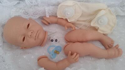 Aggressivo Realistico Baby-doll Kit Anna Arto Completo + 20in Corpo Del Disco & Blue Vinile Tettarella Manichino-mostra Il Titolo Originale In Molti Stili