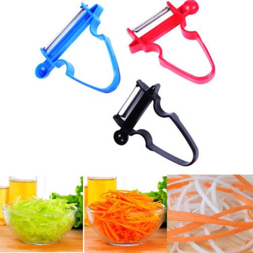 3Pcs Magic Trio Peelers Slicer Shredder Peeler Julienne Vegetable Fruit Cutter X