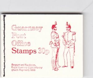 Guernsey-1971-0-30-Stamp-Booklet-Mint-Condition-SB9