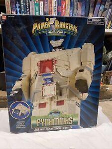 Power Rangers zeo pyramidas In Box