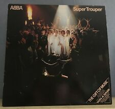 ABBA Super Trouper 1980 UK  vinyl LP + INNER EXCELLENT CONDITION  F