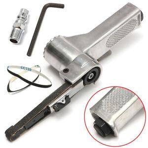 3/8 Inch Air Belt Grinder with 20mm Sanding Belts Air Compressor Pneumatic Tool
