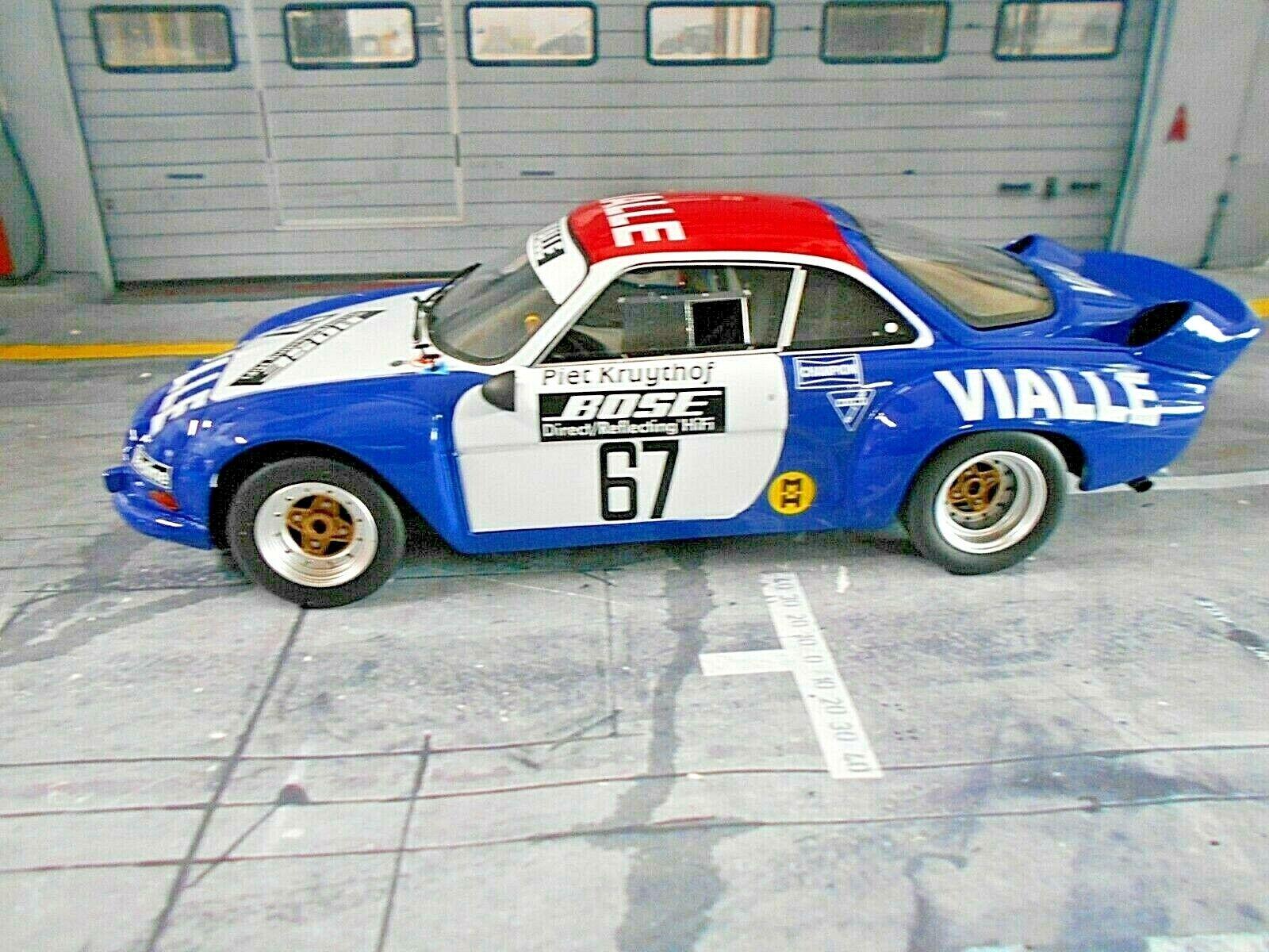 consegna diretta e rapida in fabbrica RENAULT a110 a110 a110 Alpine MIS. 5 RtuttiY CROSS squadra Vituttie 1977  67 KR otto NUOVO nuovo 1 18  negozio di sconto