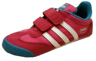 Adidas LEARN2WALK Dragon CF Baby Kids Crib Shoes Trainers size 9.5 infants