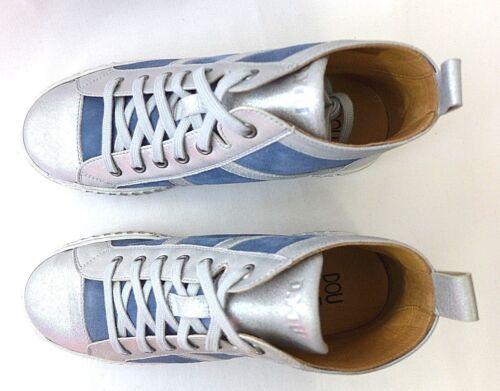 46870 Femmes Chaussures Argent Sneaker 37 Dyou Bleu dentelle 40 Taille Dessy dnqvvFRrY